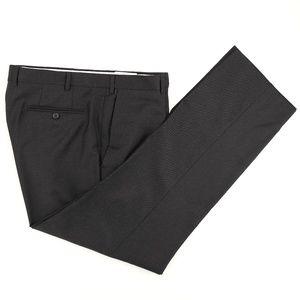 Santorelli Romeo Luxury Serge Wool Dress Pants